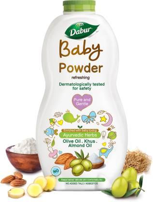 Dabur Baby Powder No added Talc & Asbestos |Contains Oat Starch