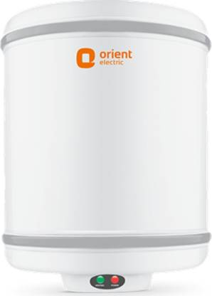 Orient Electric 15 L Storage Water Geyser (Cronos, White)