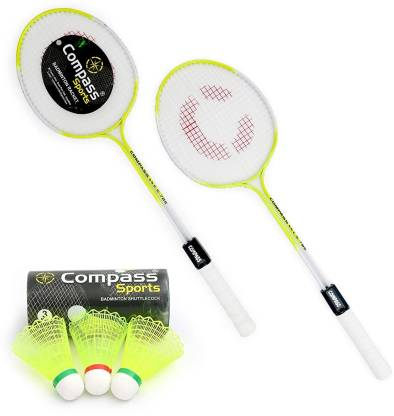 COMPASS CS-786-BADMINTON-2PC-3PC Shuttle Cock Badminton Kit