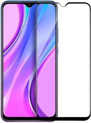 Flipkart SmartBuy Edge To Edge Tempered Glass for Mi Redmi 9, Mi Redmi 9A, Mi Redmi 9i, Poco C3, Poco M2, Mi Redmi 9 Prime