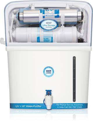 KENT ULTRA STORAGE 8 L UV + UF Water Purifier