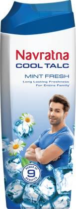 Navratna Cool Talc Mint Fresh