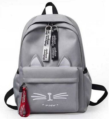 RDP Style Cat Design Fashion Waterproof Women Girls Backpack Laptop Backpack Waterproof Backpack