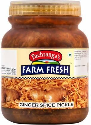 Pachranga's Farm Fresh Fresh Ginger Spice Pickle - 1 kg Ginger Pickle