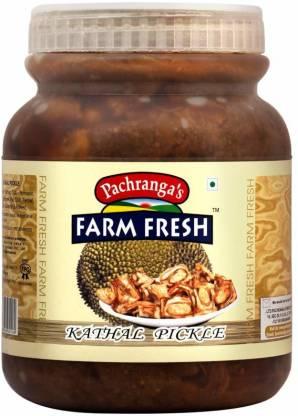 Pachranga's Farm Fresh Fresh Kathal Pickle - 1 kg Mixed Vegetable Pickle