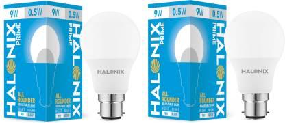 HALONIX 9 W, 0.5 W Round B22 LED Bulb