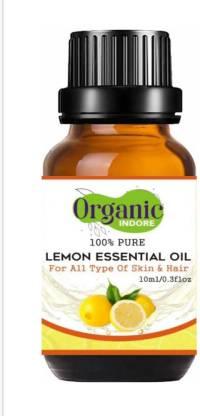 OrganicIndore 100% pure lemon essential oil