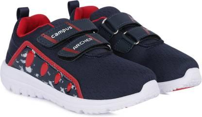 CAMPUS Boys & Girls Velcro Running Shoes