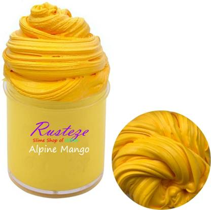 Rusteze Alpine Mango Scented Butter Slime (100 ml) Multicolor Putty Toy