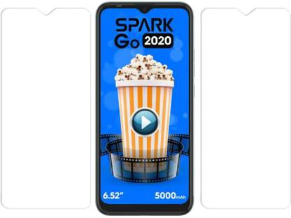 KARTRAY Tempered Glass Guard for Micromax IN 1b, Tecno Spark GO 2020, Tecno Spark 6 Go, Tecno Spark 7, Motorola E7 Plus, Motorola G8 Power Lite, Motorola G9, Motorola G10 Power, Motorola G30