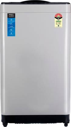 MarQ by Flipkart 8 kg 5 Star Engineered with Panasonic Technology Fully Automatic Top Load Grey