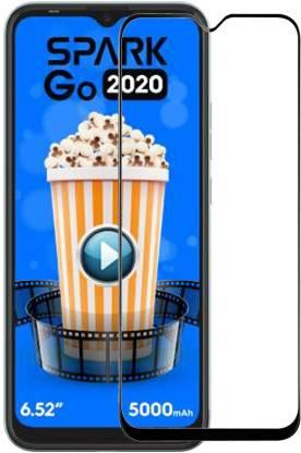 KARTRAY Edge To Edge Tempered Glass for Micromax IN 1b, Tecno Spark GO 2020, Tecno Spark 6 GO, Tecno Spark 7, Motorola E7 Plus, Motorola G8 Power Lite, Motorola G9, Motorola G10 Power, Motorola G30