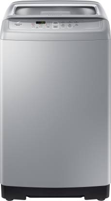 SAMSUNG 7 kg Monsoon drying feature Fully Automatic Top Load Silver
