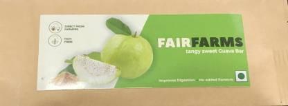 Fairfarms Guava Bar Tangy Sweet Candy Bar