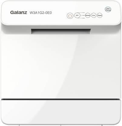 Galanz W3A1G2-0E0 Free Standing 4 Place Settings Dishwasher