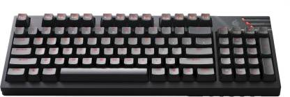 COOLER MASTER Quick Fire TK Red Cherry Wired USB Gaming Keyboard