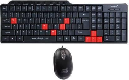 QHMPL 8810 Wired USB Laptop Keyboard