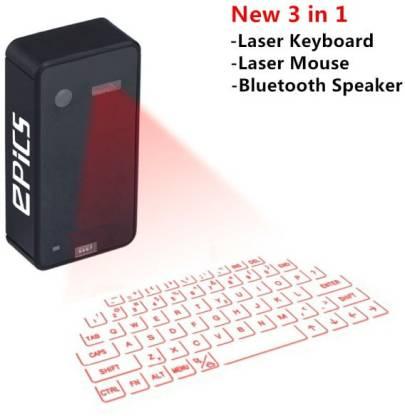 Epics 3 in 1 Laser Virtual Laser Laptop Keyboard
