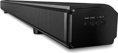 Blaupunkt SBA03 100 W Bluetooth Soundbar(Black, 2.1 Channel)