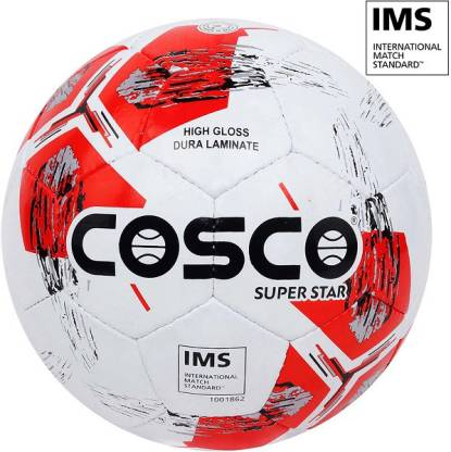 "COSCO SUPER STAR Football Qualified By ""IMS - International Match Slandered"" Football - Size: 5"