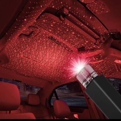 Shopee Romantic Roof Star Projector Night Lights Flexible Usb Night Lamp Fit All Cars Ceiling Decoration Light Interior Ambient Atmosphere For Bedroom Party Walls Plug And Play Car Fancy Lights Price In India