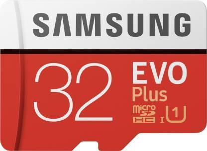 SAMSUNG EVO Plus 32 GB SD Card Class 10 95 MB/s  Memory Card