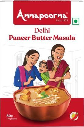 Annapoorna Delhi Paneer Butter Masala 80g Carton