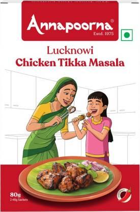 Annapoorna Lucknowi Chicken Tikka Masala 80g Carton