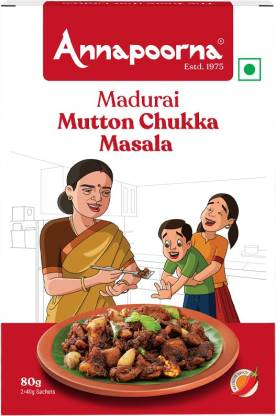Annapoorna Madurai Mutton Chukka Masala 80g Carton