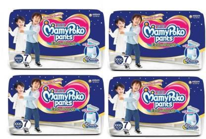 MamyPoko Pants Extra Absorb Diapers, XXXL 7+7+7+7 - XXXL