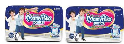 MamyPoko Pants Extra Absorb Diapers, XXXL 7+7 - XXXL