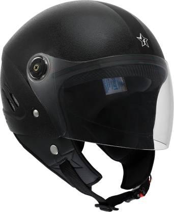 Flipkart SmartBuy Bolt ISI Marked Open-face 100% ABS with Unbreakable Visor Motorbike Helmet