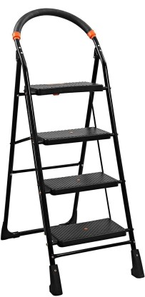 Flipkart SmartBuy 4 Step Steel Ladder  (With Platform)