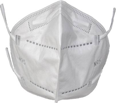 sterimask N95 5 layered SITRA CE FDA ISO NABL Certified Face Mask | M 9091 | (Pack of 5, Made In India) Water Resistant