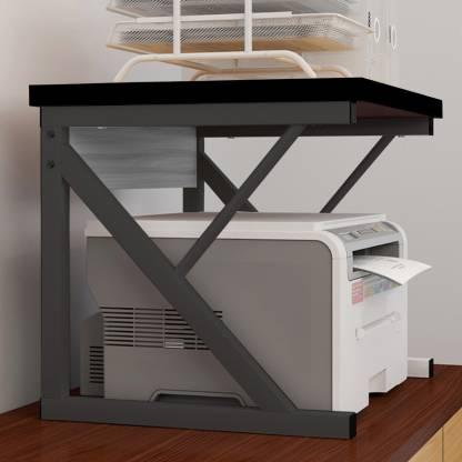 Office Desk File Storage Rack Z, Desk With Printer Storage