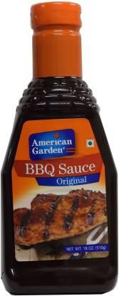 American Garden BBQ Sauce Original 510g Each ( Pack of 2 ) Sauce