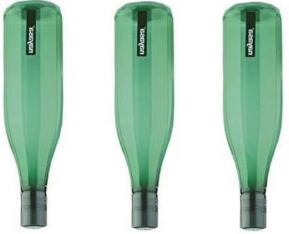 NAYASA UTKRISHTA FIBER WATER BOTTLE 3 PCS SET 1000 ml Bottle