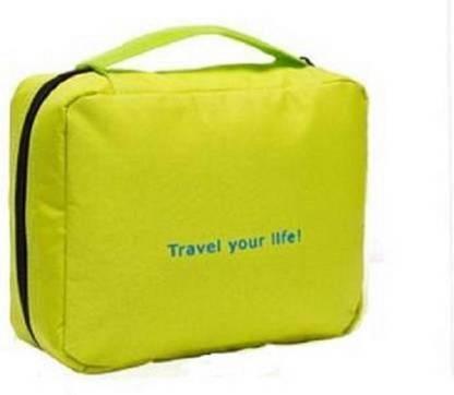Blueshop Cosmetic Toiletry Shaving Jewelry Hanging Bag Organizer , Travel Toiletry Kit Travel Toiletry Kit