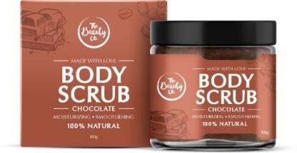 The Beauty Co. Chocolate & Coffee Body Scrub, | 100% Natural | Coffee | Argan | Coconut | Paraben & SLS Free Scrub