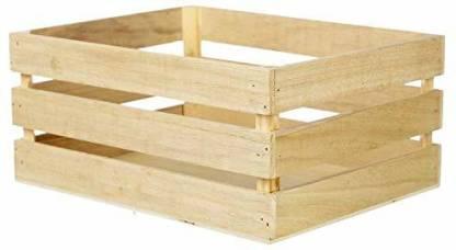Heritage Wood Crafts Storage Basket