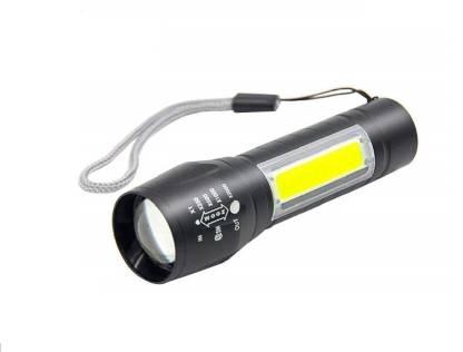 CPEX LED Flashlight with COB Light Mini Waterproof Portable LED XPE COB Flashlight USB Rechargeable 3 Modes Pen Clip Light Flashlight with Hanging Rope Torch
