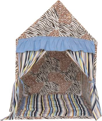 Second May Kids yurt multicolor play house tent small size with quilt