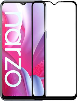 Knotyy Tempered Glass Guard for Oppo A53s 5G, Realme Narzo 20, Realme C11, Realme C12, Realme C15, Realme C3, Realme 5, Realme 5i, Realme 5s, Oppo A9 2020, Oppo A5 2020, Realme Narzo 10, Realme Narzo 10A, Oppo A31, Motorola Moto E7 Power, Realme C20, Realme C21, Realme C25, Realme Narzo 20A, vivo y20i, Vivo y20, Realme C25s, Lava Z4, Oppo A15