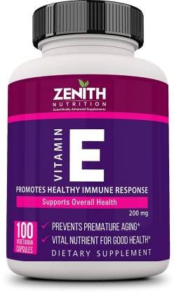 Zenith Nutrition Nutrition Vitamin-E Lab tested