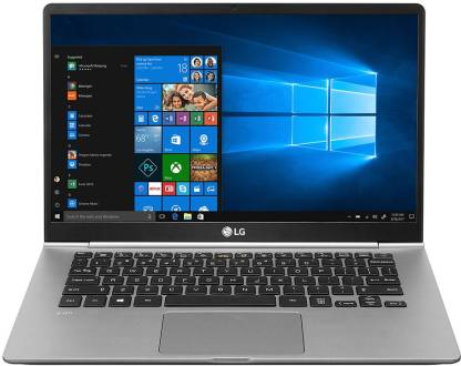 LG Gram 14 Core i5 10th Gen - (8 GB/256 GB SSD/Windows 10 Home) Gram 14Z90N Laptop  (14 inch, Dark Silver, 0.999 g)