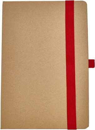 Flipkart SmartBuy Executive Collection A5 Diary Ruled 160 Pages(Brown, Red)