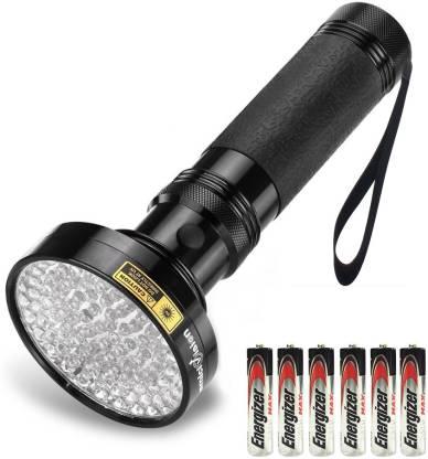 UV Flashlights 100 LEDs 395 nm UV LED Torch Back Pets Urine Detector Lights 100W