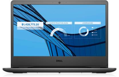 DELL Vostro Core i3 10th Gen - (4 GB/1 TB HDD/Windows 10 Home) Vostro 3401 Thin and Light Laptop