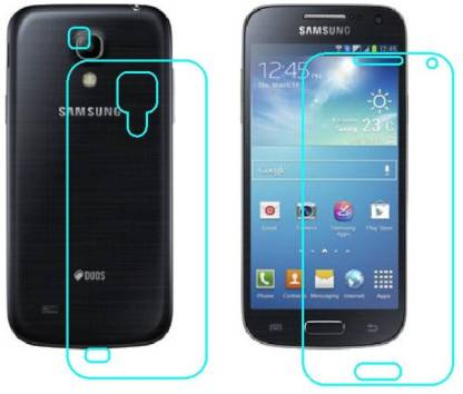 Ecomaholics Front and Back Screen Guard for Samsung Galaxy S4 mini Duos I9192