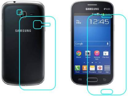 Ecomaholics Front and Back Screen Guard for Samsung Galaxy Star Pro Duos S7262